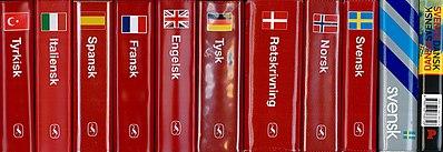 den røde ordbog