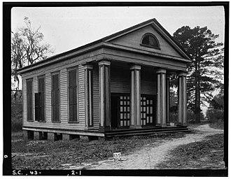 High Hills of Santee Baptist Church - High Hills of Santee Baptist Church in 1934