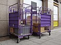 HCT Logistics roll containers at Taipei Station 20180929.jpg