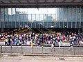 HK 中環 Central 德輔道中 Des Voeux Road HSBC HQ ground floor visitors Sunday May 2019 SSG 02.jpg