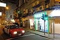 HK 灣仔 Wan Chai Road night 巴路士街 Burrows Street July 2018 IX2 Taxi.jpg