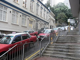 Glenealy, Hong Kong - Section near Wyndham Street, Central, Hong Kong