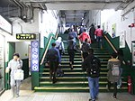 HK TST Star Ferry Piers stairs to Central Dec-2012.JPG