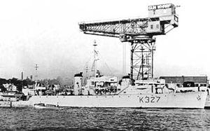 Christina O - Christina O in her previous life as HMCS Stormont