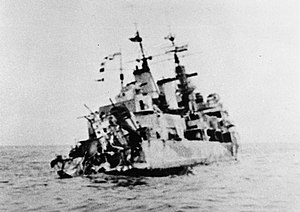 HMS Edinburgh stern torpedo damage 1942 IWM MH 23866
