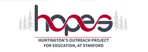 Huntington's Disease Outreach Project for Education at Stanford - HOPES Logo