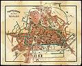 HUA-210077-Plattegrond van de stad Utrecht met weergave van de bebouwing en straatnamen evenals de grenzen van een kiesdistrictNB Het betreft de 15e druk.jpg