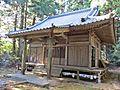 Haiden of Takakura-jinja shrine in Haramachi ward 2.JPG
