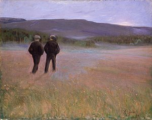 Halfdan Egedius - Evening of Summer, 1893