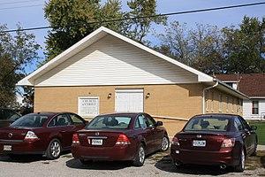Hamilton, Missouri - Image: Hamilton Church Christ