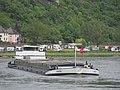 Hanna (ship, 1960), ENI 04802420 on the Rhine near Sankt Goar-Oberwesel pic3.JPG