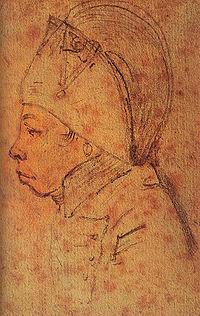 François Hanriot(croquis par Gabriel, Musée Carnavalet, Paris)