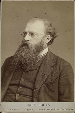 London Symphony Orchestra - Hans Richter, first conductor of the LSO