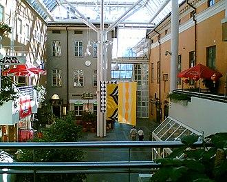 Hansa (shopping centre) - Image: Hansakortteli Turku
