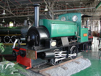 South African Dock Shunter 0-4-0ST - The engine Stormberg, Outeniqua Transport Museum, 15 April 2013