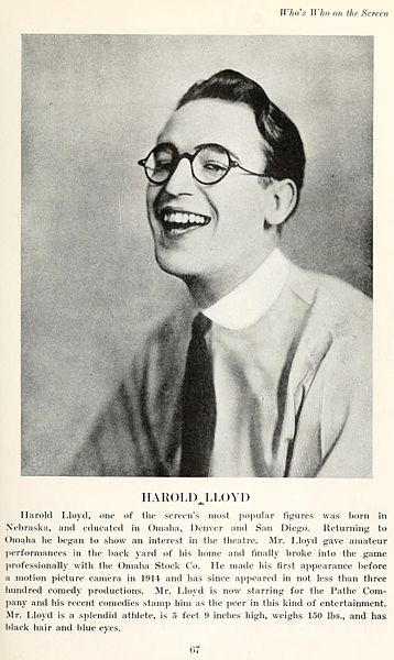 File:Harold Lloyd in Who's Who on the Screen.jpg
