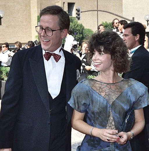 Harry Anderson and guest