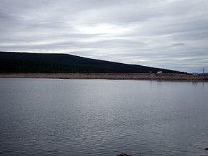 Lule River - Harsprånget in Lule River, August 2007