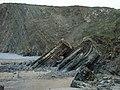 Hartland Quay Cliff Face, Devon - geograph.org.uk - 364272.jpg