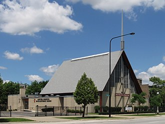 United Methodist Church - Hartzell Memorial United Methodist church in Chicago, United States