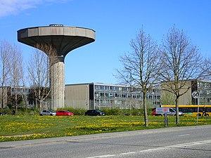 Hasle, Aarhus - Image: Hasle Vandtårn 01