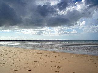 Hervey Bay City in Queensland, Australia