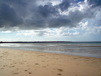 Regions of Queensland - Hervey Bay is part of the Wide Bay–Burnett region