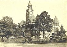 Henry county courthouse paris tennessee wikipedia henry county courthouse circa 1900 sciox Choice Image