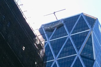 Hearst Tower (Manhattan) - Window cleaning incident in 2013