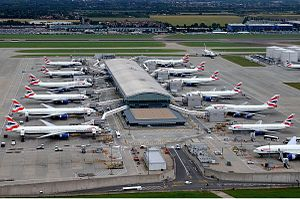 Airline hub - The primary hub of British Airways is Heathrow Airport in London