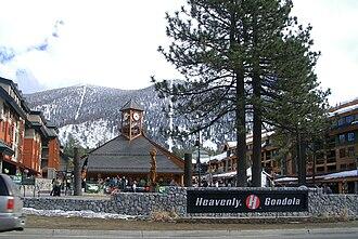 Heavenly Mountain Resort - Image: Heavenly Gondola Base