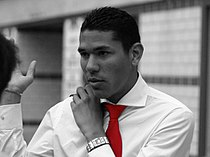 Hedwiges Maduro bw with red tie.jpg