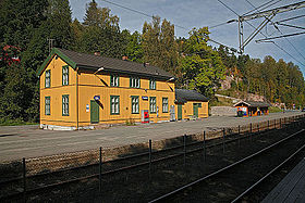Image illustrative de l'article Gare de Heggedal