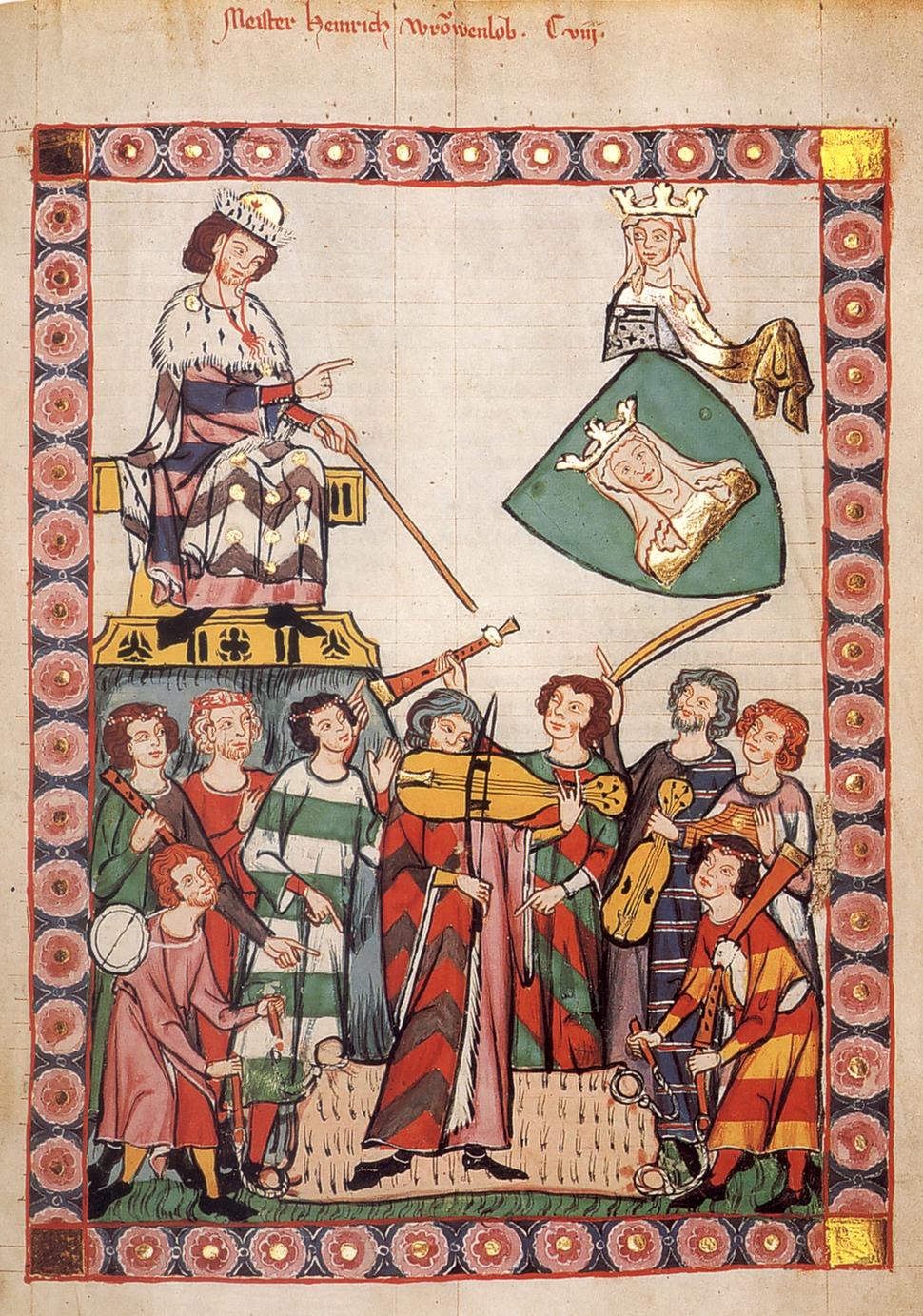 Heinrich von Meißen (Frauenlob), Minnesänger