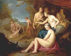 Hendrick Bloemaert - Diana en Callisto.