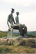 Henry Moore's 'King and Queen' in the Glenkiln Sculpture Park - geograph.org.uk - 952228.jpg