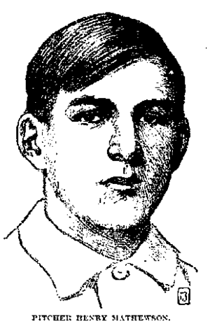 Henry Mathewson - Image: Henry mathewson newspaper
