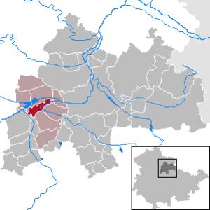 Henschleben - Image: Henschleben in SÖM