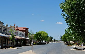 Henty, New South Wales - Main street