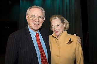 Herb Pardes - Pardes (left) with Charlotte Ford at a Women's Health Symposium in 2008