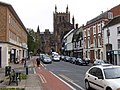 Hereford Cathedral from King Street - geograph.org.uk - 1524527.jpg