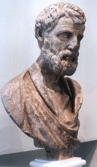 Herodes Atticus - Herodes Atticus bust, from his villa at Kephissia. mid-2nd century