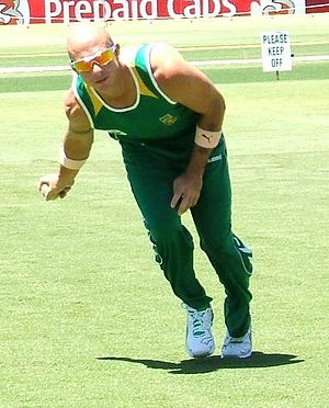 Herschelle Gibbs - Gibbs at fielding practice, Adelaide Oval, January 2009.