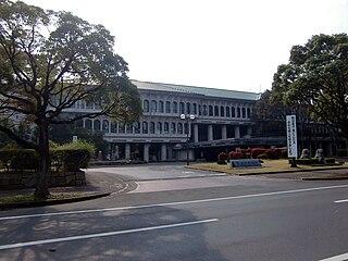 Higashiōmi City in Kansai, Japan