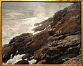 High Cliff, Coast of Maine, 1894, by Winslow Homer - SAAM - DSC00845.JPG