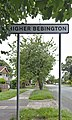 Higher Bebington sign, Borough Road.jpg