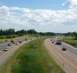 Ontario Highway 404 - Highway 404 north of Toronto