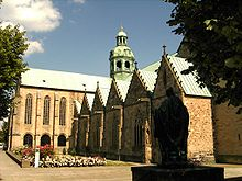 Hildesheim Cathedral.North.Tower.JPG