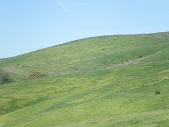 Victory Boulevard (Los Angeles) - Image: Hills at Upper Las Virgenes Canyon