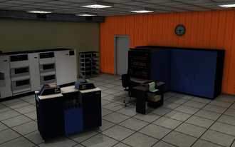 IBM System/370 - System/370-145 3D Rendering